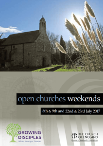 Open Churches Weekend 2017