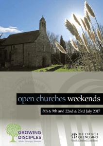 Open Churches Weekend 2017