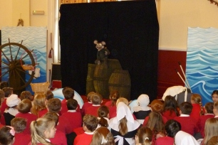 Ratty tells his Chronicles of the Mayflower Pilgrims