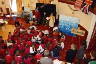 Talegate Theatre performing Chronicles of the Mayflower Pilgrims