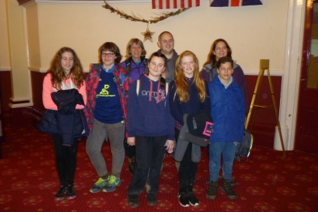 QEHS students walk from Gainsborough to Retford for Illuminate