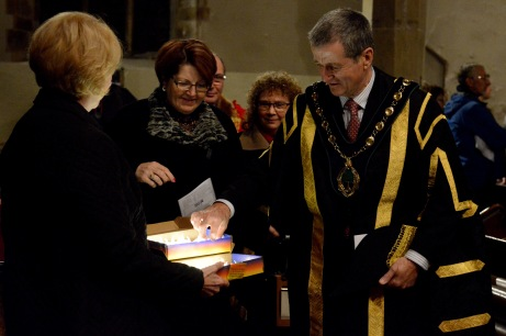 Retford's Illuminate Civic Service