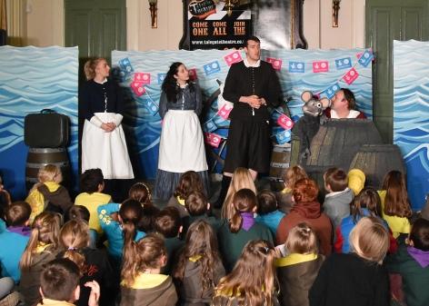 Talegate Theatre's 'Chronicles of the Mayflower Pilgrims'