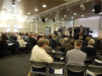 Richard Warren (Assistant Pastor, The Well) interviews Henry Reid (Open Doors) and Richard Jones (Release International)