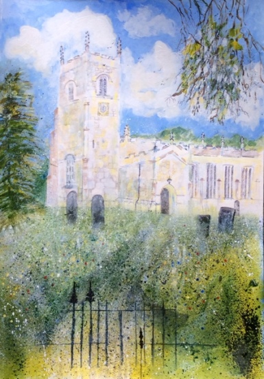 Babworth Church, Elaine Nash