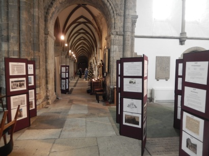 Rebels & Religion exhibition at Worksop Priory