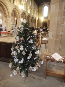 Sheffield Children's Hospital tree at Worksop Priory