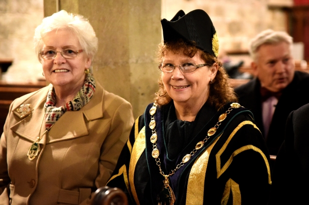 Chair & consort, Bassetlaw District Council