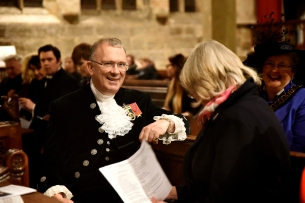 High Sheriff of Nottinghamshire David Sneath