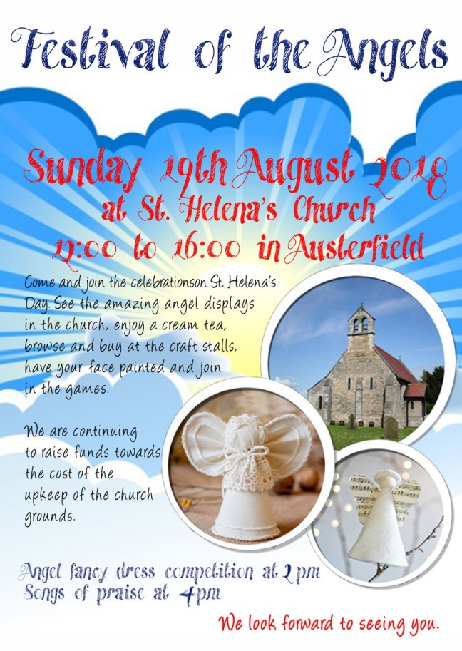 Austerfield angel poster Aug2018