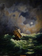 Mayflower in Storm Gerry Fruin