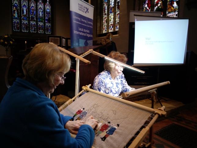 Babworth Church embroiders2