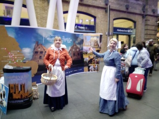 NNLCRP welcome enquiries at King's Cross